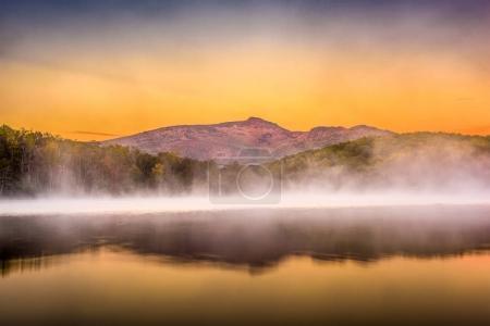 Grandfather Mountain at Dawn