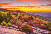Autumn Dawn in Blue Ridge Mountains