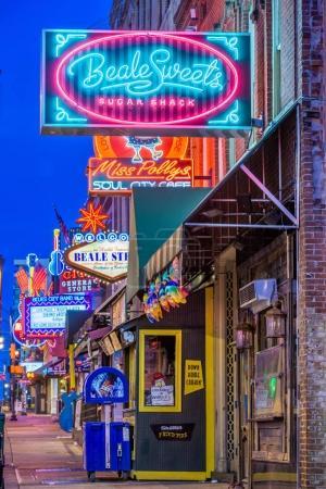 Beale Street, Memphis, Tennessee, USA