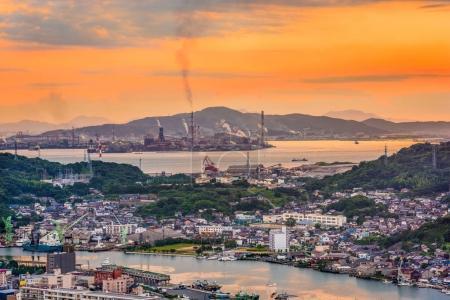 Shimonoseki, Japan Skyline