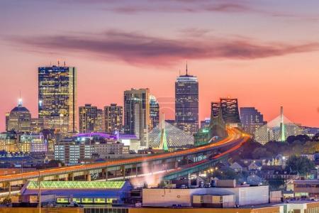 Boston, Massachusetts, USA Skyline