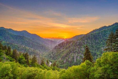 Newfound Gap Smoky Mountains