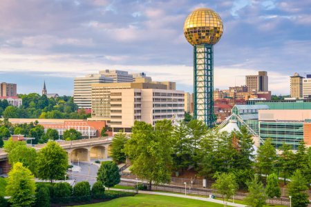 Knoxville, Tennessee, USA Skyline