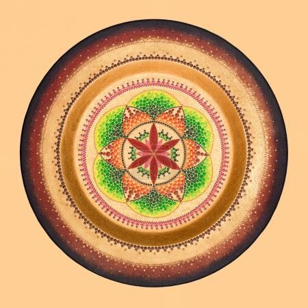 colourful mandala art