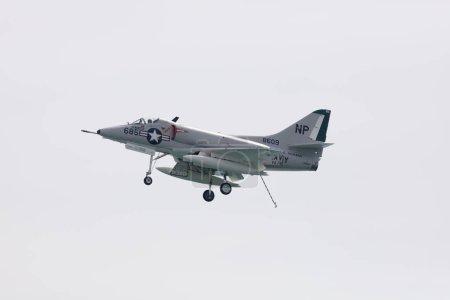 Skyhawk air show performing