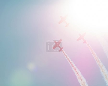 airplane parade flare