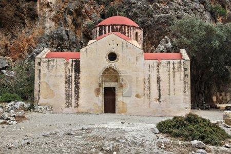 Crete monastery church