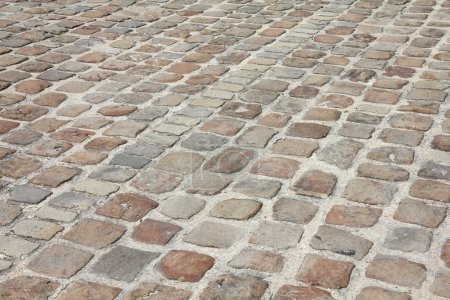 Cobblestone background, France