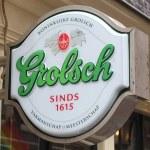 Постер, плакат: Grolsch beer sign