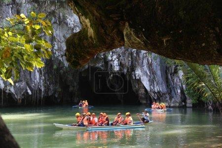 Underground river in Philippines