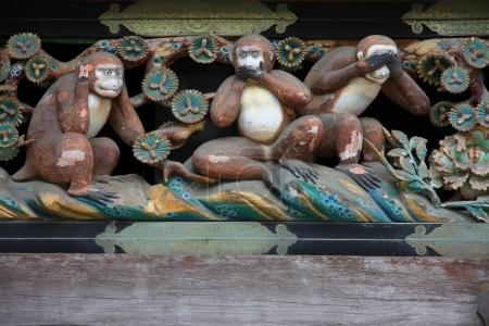 Wise Monkeys, Japan