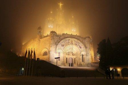 Foggy Tibidabo Barcelona