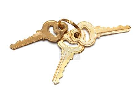 bunch of golden keys