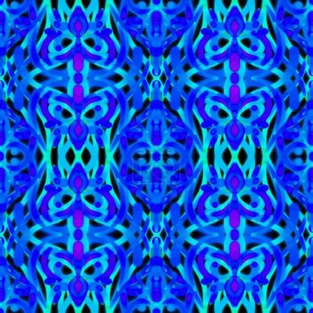 Oriental style seamless pattern