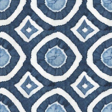 Seamless tie-dye pattern