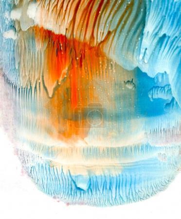 Multicolor  Acrylic background