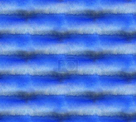 Abstraktes, nahtloses Muster mit Aquarellflecken. Handgezeichnete Illustration.