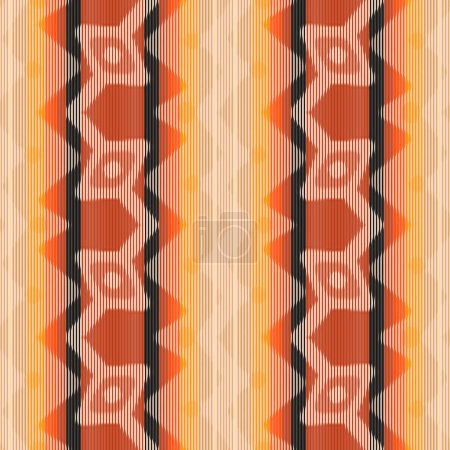 pattern with geometric ornament