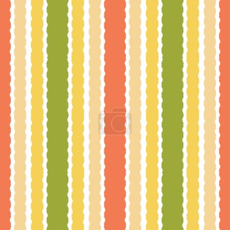 ornament with colorful stripes