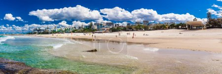 Hot day at beach caloundra