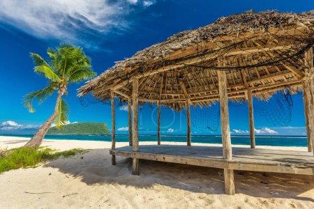 Tropical natural beach
