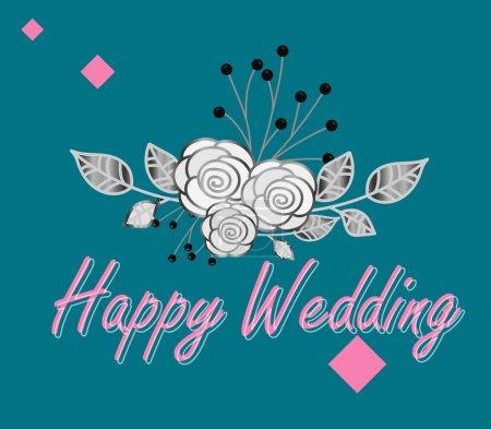 Happy Wedding Vintage Template