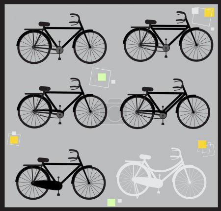 Indian Cycles Shapes and Silhouettes