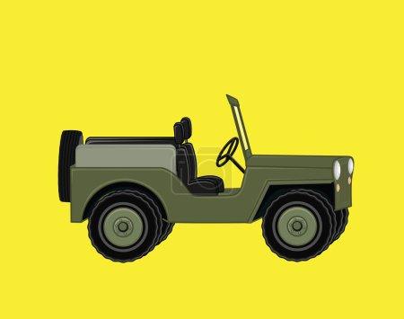 Open Jeep Car