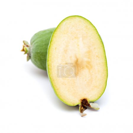 green feijoa fruit