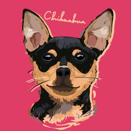 Chihuahua Painting Poster