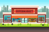 Supermarket Grocery Store