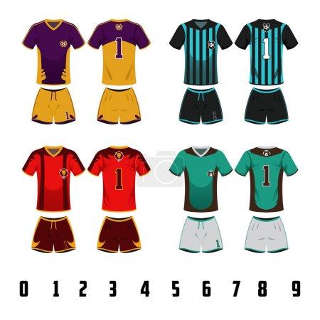 Soccer Jersey Uniform Design