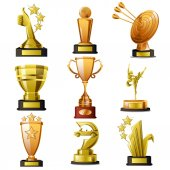 Gold Winning Trophy Designs