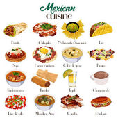 Mexican Cuisine Icons
