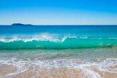 Surf at Zenith Beach in NSW, Australia