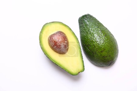 Photo for Organic and healthy fresh avocado - Royalty Free Image