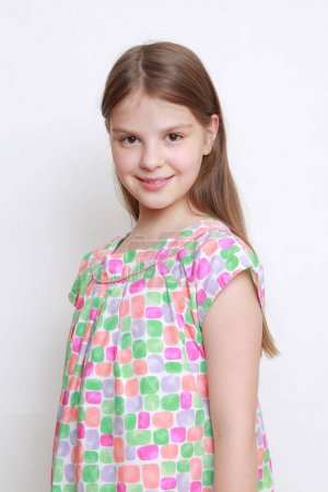 Photo for Portrait of emotional little girl - Royalty Free Image