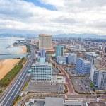 Beautiful Fukuoka cityscape in Japan...