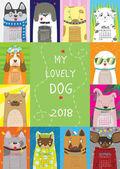 Lovely Dog Calendar