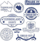 Cumberland county NJ generic stamps and signs