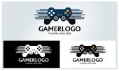 Game logo design template Vector illustration