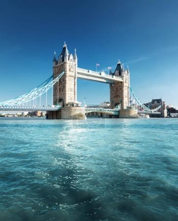 Photo pour Tower bridge à Londres, uk - image libre de droit