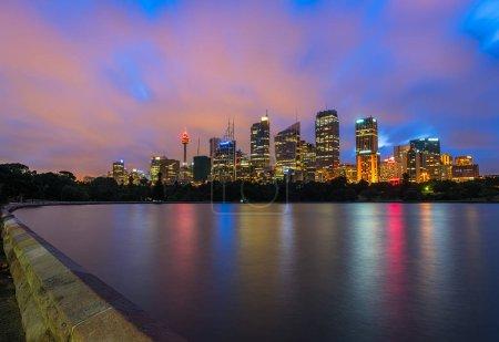 Sydney City Australia at night