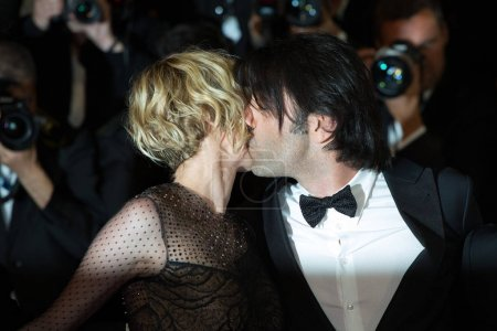 Photo for CANNES, FRANCE - 26 of may 2017 : Diane Kruger, Fatih Akin attend In The Fade premiere at the 70th Festival de Cannes - Royalty Free Image