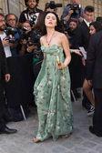 Kristina Bazan attends the Valentino