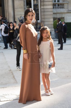 Guests attends the Valentino