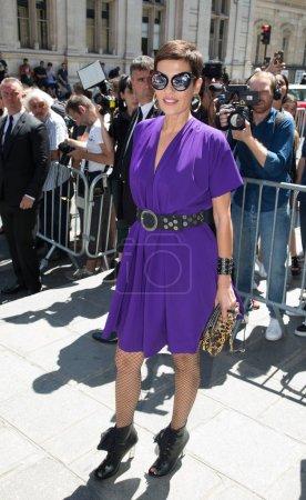 Cristina Cordula attends Jean Paul Gaultier