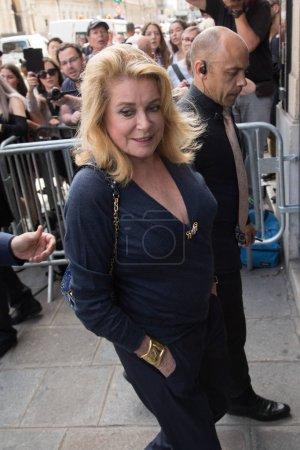 Catherine Deneuve attends Jean Paul Gaultier