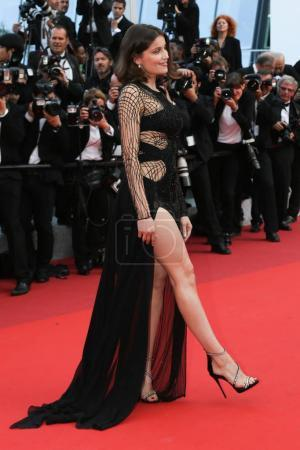 Photo for Laetitia Casta   attends the screening of 'The Unkown Girl (La Fille Inconnue)'  at the 69th Festival de Cannes - Royalty Free Image