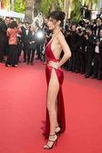 Bella Hadid attends the 'The Unkown Girl (La Fille Inconnue)'  premiere